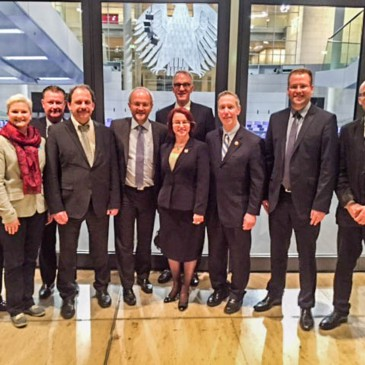 Einladung vom ASPEN Institut im Bundestag mit amerikanischer Congressdelegation und Volkmar Klein MdB