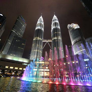 Kuala Lumpur im Januar